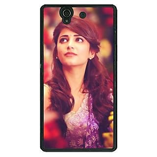 1 Crazy Designer Bollywood Superstar Shruti Hassan Back Cover Case For Sony Xperia Z C461074