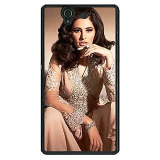 1 Crazy Designer Bollywood Superstar Nargis Fakhri Back Cover Case For Sony Xperia Z C461075