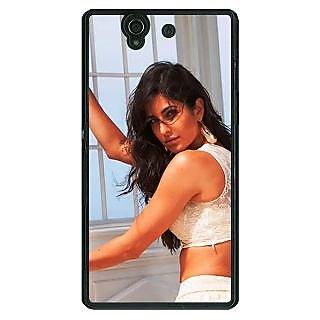 1 Crazy Designer Bollywood Superstar Katrina Kaif Back Cover Case For Sony Xperia Z C461077