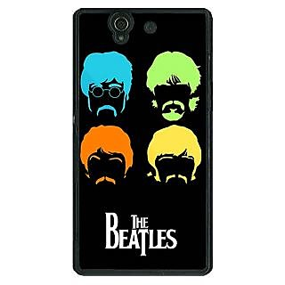 1 Crazy Designer The Beatles Back Cover Case For Sony Xperia Z C461083