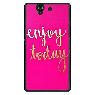 1 Crazy Designer QQQQ Back Cover Case For Sony Xperia Z C461167