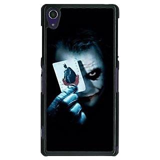 1 Crazy Designer Villain Joker Back Cover Case For Sony Xperia Z1 C470032