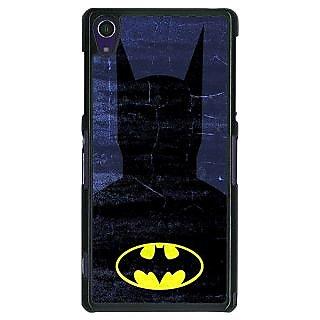 1 Crazy Designer Superheroes Batman Dark knight Back Cover Case For Sony Xperia Z1 C470042