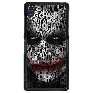 1 Crazy Designer Villain Joker Back Cover Case For Sony Xperia Z1 C470047