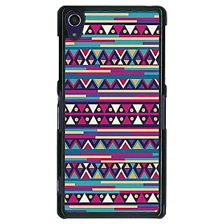 1 Crazy Designer Aztec Girly Tribal Back Cover Case For Sony Xperia Z1 C470063