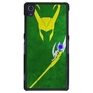 1 Crazy Designer Superheroes Loki Back Cover Case For Sony Xperia Z1 C470341