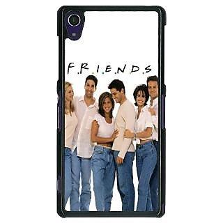 1 Crazy Designer TV Series FRIENDS Back Cover Case For Sony Xperia Z1 C470345