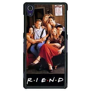 1 Crazy Designer TV Series FRIENDS Back Cover Case For Sony Xperia Z1 C470346