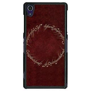 1 Crazy Designer LOTR Hobbit  Back Cover Case For Sony Xperia Z1 C470369