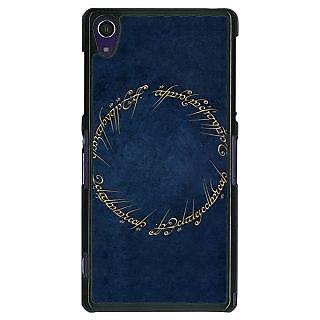 1 Crazy Designer LOTR Hobbit  Back Cover Case For Sony Xperia Z1 C470371