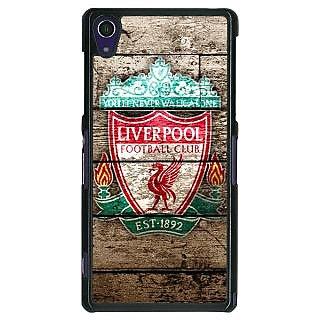 1 Crazy Designer Liverpool Back Cover Case For Sony Xperia Z1 C470548