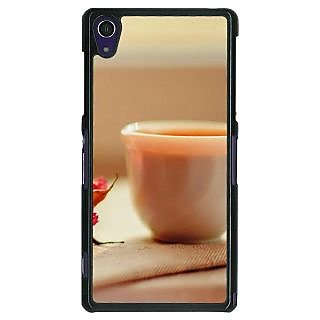1 Crazy Designer Coffee Date Back Cover Case For Sony Xperia Z1 C470714