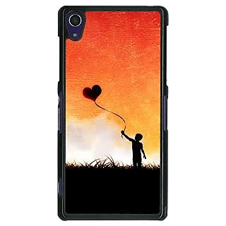 1 Crazy Designer Love In The Air Back Cover Case For Sony Xperia Z1 C470720