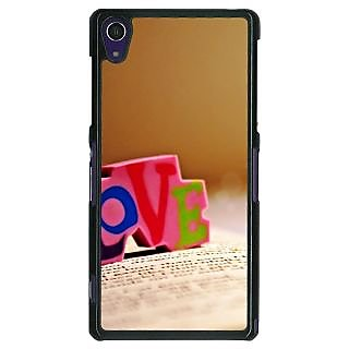 1 Crazy Designer Love  Back Cover Case For Sony Xperia Z1 C470727