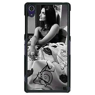 1 Crazy Designer Bollywood Superstar Sonam Kapoor Back Cover Case For Sony Xperia Z1 C470974
