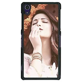 1 Crazy Designer Bollywood Superstar Shruti Hassan Back Cover Case For Sony Xperia Z1 C470975
