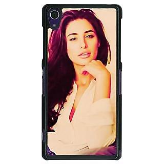1 Crazy Designer Bollywood Superstar Nargis Fakhri Back Cover Case For Sony Xperia Z1 C470976