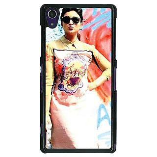 1 Crazy Designer Bollywood Superstar Parineeti Chopra Back Cover Case For Sony Xperia Z1 C470978