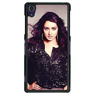 1 Crazy Designer Bollywood Superstar Shraddha Kapoor Back Cover Case For Sony Xperia Z1 C470980