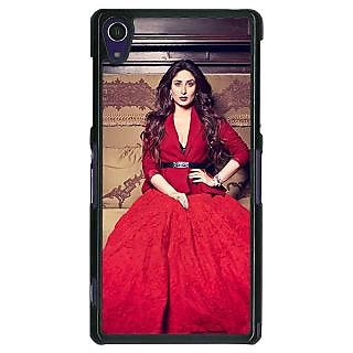 1 Crazy Designer Bollywood Superstar Kareena Kapoor Back Cover Case For Sony Xperia Z1 C470982