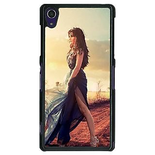 1 Crazy Designer Bollywood Superstar Jacqueline Fernandez Back Cover Case For Sony Xperia Z1 C470990