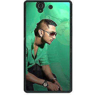1 Crazy Designer Bollywood Superstar Honey Singh Back Cover Case For Sony Xperia Z C461177