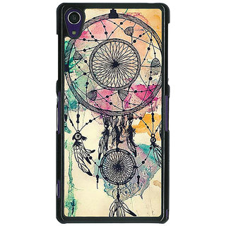 1 Crazy Designer Dream Catcher Back Cover Case For Sony Xperia Z1 C470087
