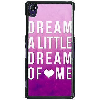 1 Crazy Designer Dream Love Back Cover Case For Sony Xperia Z1 C470090