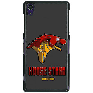 1 Crazy Designer Game Of Thrones GOT House Stark  Back Cover Case For Sony Xperia Z1 C470126