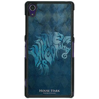 1 Crazy Designer Game Of Thrones GOT House Stark  Back Cover Case For Sony Xperia Z1 C470128