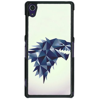1 Crazy Designer Game Of Thrones GOT House Stark  Back Cover Case For Sony Xperia Z1 C470129