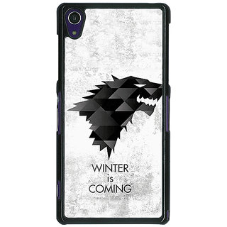 1 Crazy Designer Game Of Thrones GOT House Stark  Back Cover Case For Sony Xperia Z1 C470130