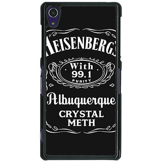 1 Crazy Designer Breaking Bad Heisenberg Back Cover Case For Sony Xperia Z1 C470402