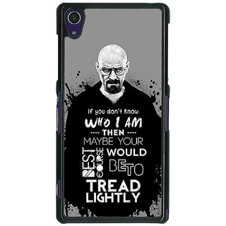 1 Crazy Designer Breaking Bad Heisenberg Back Cover Case For Sony Xperia Z1 C470427