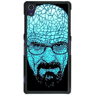 1 Crazy Designer Breaking Bad Heisenberg Back Cover Case For Sony Xperia Z1 C470428
