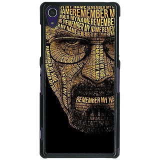 1 Crazy Designer Breaking Bad Heisenberg Back Cover Case For Sony Xperia Z1 C470430