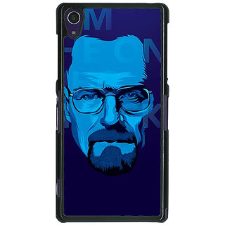 1 Crazy Designer Breaking Bad Heisenberg Back Cover Case For Sony Xperia Z1 C470431