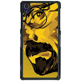 1 Crazy Designer Breaking Bad Heisenberg Back Cover Case For Sony Xperia Z1 C470432