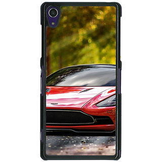 1 Crazy Designer Super Car Aston Martin Back Cover Case For Sony Xperia Z1 C470612