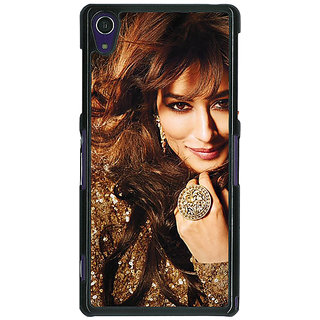 1 Crazy Designer Bollywood Superstar Chitrangada Singh Back Cover Case For Sony Xperia Z1 C471034