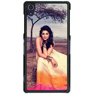 1 Crazy Designer Bollywood Superstar Parineeti Chopra Back Cover Case For Sony Xperia Z1 C471061