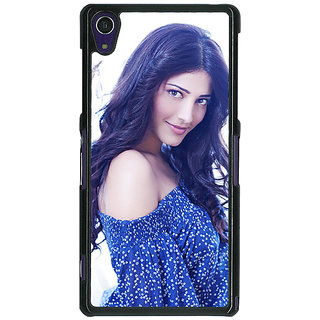 1 Crazy Designer Bollywood Superstar Shruti Hassan Back Cover Case For Sony Xperia Z1 C471065
