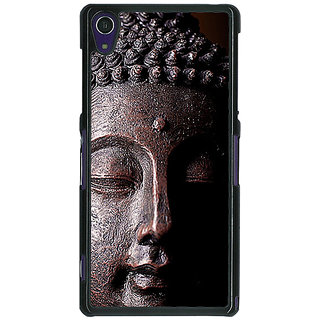 1 Crazy Designer Gautam Buddha Back Cover Case For Sony Xperia Z1 C471285