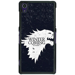 1 Crazy Designer Game Of Thrones GOT House Stark  Back Cover Case For Sony Xperia Z1 C470135