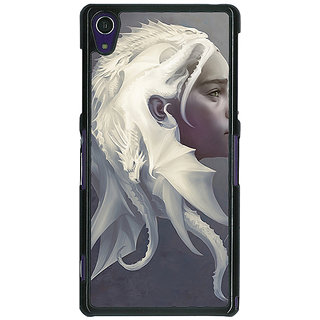1 Crazy Designer Game Of Thrones GOT House Targaryen  Back Cover Case For Sony Xperia Z1 C470141