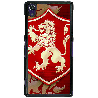 1 Crazy Designer Game Of Thrones GOT House Lannister  Back Cover Case For Sony Xperia Z1 C470161