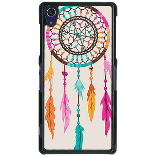 1 Crazy Designer Dream Catcher  Back Cover Case For Sony Xperia Z1 C470199