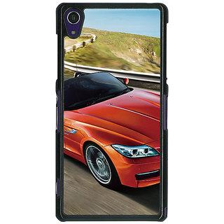 1 Crazy Designer Super Car BMW Back Cover Case For Sony Xperia Z1 C470615