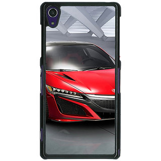 1 Crazy Designer Super Car Mazda Back Cover Case For Sony Xperia Z1 C470617
