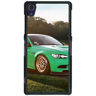 1 Crazy Designer Super Car BMW Back Cover Case For Sony Xperia Z1 C470634